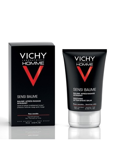 Vichy VICHY Homme Sooting After Shave Balm 75 ml - Traş Sonrası Balsam Renksiz